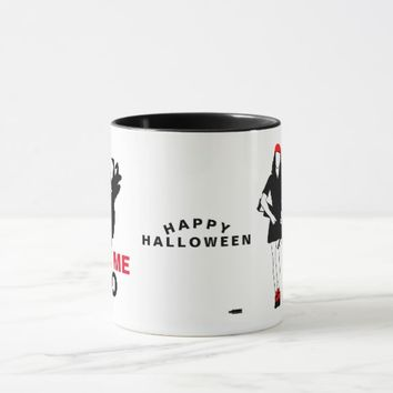 Happy Halloween Funny Horror customizable Mug