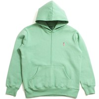 Signature Carrot Patch Hoodie Sage Green