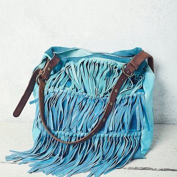 Free People Salty Sea Fringe Tote