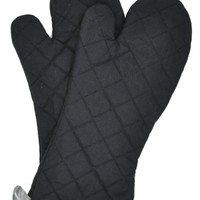 Nouvelle Legende® Flame Retardant Quilted Oven Mitts (2-Pack)