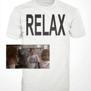 RELAX T-Shirt - The Wedding Singer ,Adam Sandler, Drew barrymore, Christine Taylor, classic movie, film, mens tee shirt, gift, funny