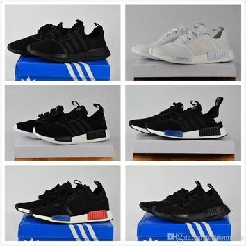 PEAPGE2 Beauty Ticks 2017 Adidas Originals Discount Nmd Runner Primeknit White Red Blue Nmd Runner Sp