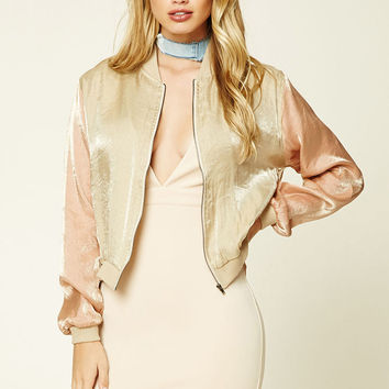 Twelve Metallic Bomber Jacket