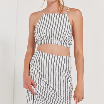 OBEY Chambers High-Rise Midi Skirt | Urban Outfitters