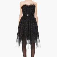 Marc Jacobs Tulle Strapless Dress