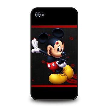 MICKEY MOUSE KISS iPhone 4 / 4S Case