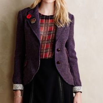14a4bc1105451 Limited-Edition Harris Tweed Blazer from Anthropologie