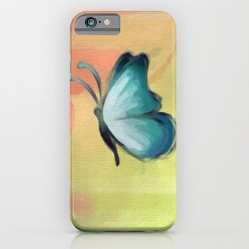 The Journey of a Butterfly iPhone & iPod Case by Texnotropio