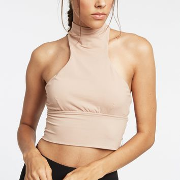 Michi Extension Crop Top - Tan