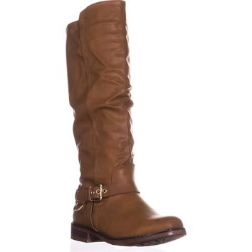 XOXO Mauricia Tall Riding Boots, Tan, 9 US / 40.5 EU