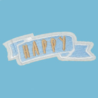 Happy Banner Patch