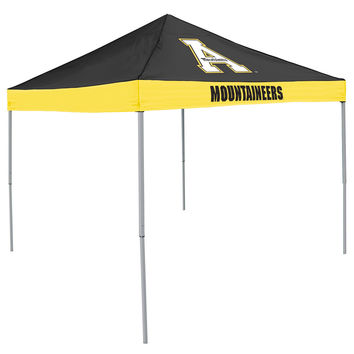 Appalachian State Mountaineers NCAA 9' x 9' Economy 2 Logo Pop-Up Canopy Tailgate Tent