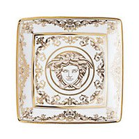 Versace - Medusa Gala Square Canape Plate - Saks Fifth Avenue Mobile