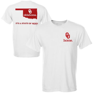 Oklahoma Sooners State of Mind T-Shirt – White
