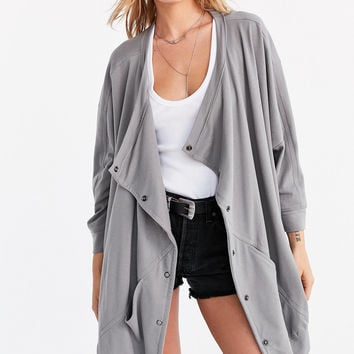 Silence + Noise Oversized Button-Down Cocoon Cardigan | Urban Outfitters