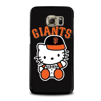 HELLO KITTY SAN FRANCISCO GIANTS Samsung Galaxy S6 Case Cover