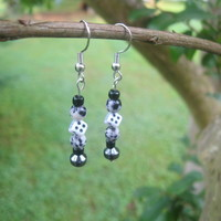 Roll The Dice Earrings - Handmade Jewelry by Steampunk Beadery