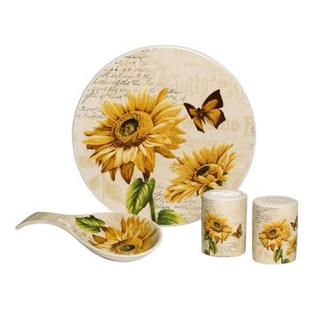 Pfaltzgraff Sunflower 4-pc. Kitchen Set