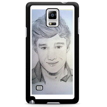 One Direction Liam Payne Art Pencil Note 4 Case