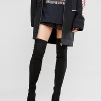 ASOS KAILA Pointed Over The Knee Boots at asos.com