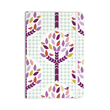 "Pellerina Design ""Orchid Spring Tree"" Purple Abstract Everything Notebook"