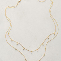 Stone Sequence Layering Necklace
