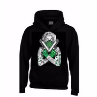 Marilyn Monroe Weed and Guns Hoodie