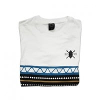 Daily Paper White Stripe Tee - Daily Paper Shop