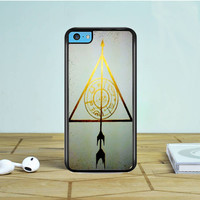 The Hunger Game Harry Potter iPhone 5 5S 5C Case Dewantary