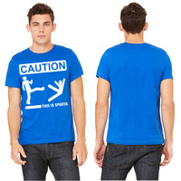 CAUTION... THIS IS SPARTA! T-shirt