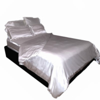 Satin Bed Sheet Set