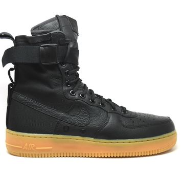 KUYOU Nike Air Force 1 Special Forces Black Gum