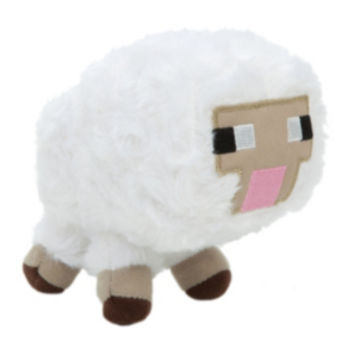 "Minecraft 5"" Baby Sheep Plush"