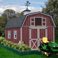 Best Barns Woodville 10' X 16' Wood Shed Kit