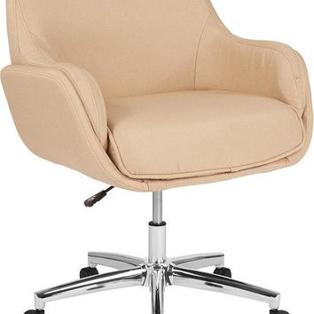 Rochelle Home and Office Upholstered Mid-Back Chair