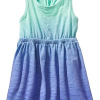 Old Navy Dip Dye Tank Dresses For Baby