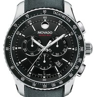 Men's Movado 'Series 800' Chronograph Strap Watch, 42mm