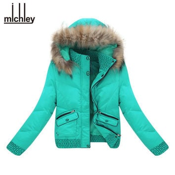 Down Coat Women Winter Jacket Classical Thick Lady Cotton Down Hood Warm Womens Quilted Coat Parka Manteau Femme LY03