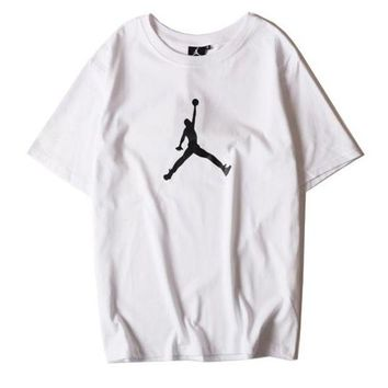 Trendsetter Jordan Women Men Fashion Casual Shirt Top Tee