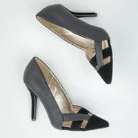 Manhattan Lady Heels in Black