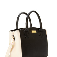 Double Compartment Colorblock Bag