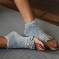Free People Floral Yoga Sock