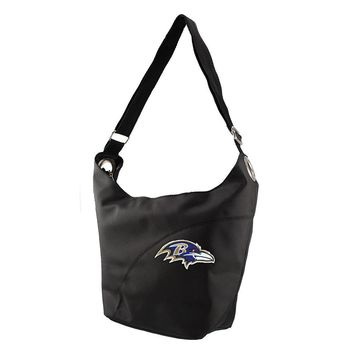 Baltimore Ravens NFL Color Sheen Hobo (Black)