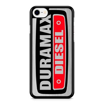 Duramax Diesel On Plate iPhone 8 Case