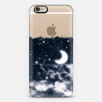 Dreamy Moonlight and Stars iPhone 6 case by Organic Saturation | Casetify