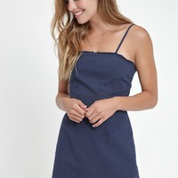 Kendall and Kylie Smocked Back Shift Dress at PacSun.com