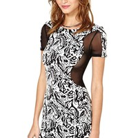 Nasty Gal Controlled Chaos Dress