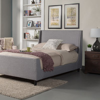 Alpine Amber Full Size Upholstered Bed