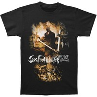 Six Feet Under Men's  A Decade In The Grave T-shirt Black