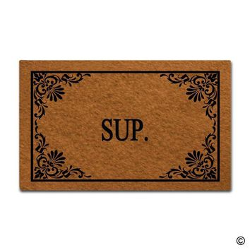 Autumn Fall welcome door mat doormat  Funny  Sup  Decorative Home Indoor Outdoor   Top AT_76_7